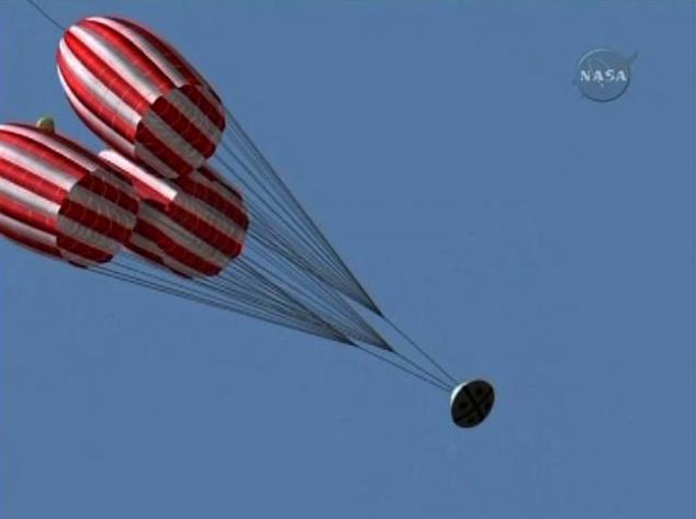 parachute module moon landing - photo #7